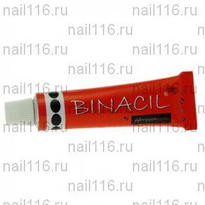 Краска для окрашивания бровей и ресниц Binacil черная (Германия)
