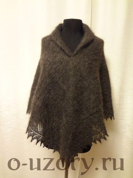 Пуховый платок (шаль)