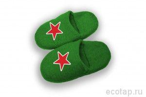 Мужские тапочки Heineken