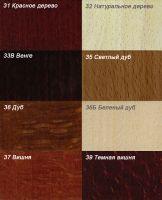Выберите нужный цвет круглых деревянных карнизов
