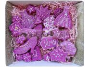 Сладкие подарки для женщин Наборы пряников «Сокровища королевы» Сладости