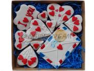 Валентинки | Сладкие подарки Наборы пряников «Я тебя люблю»