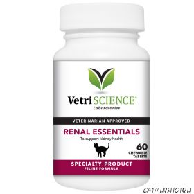 Vetri-Science Renal Essentials For Cats FISH FLAVOR (60 таблеток)