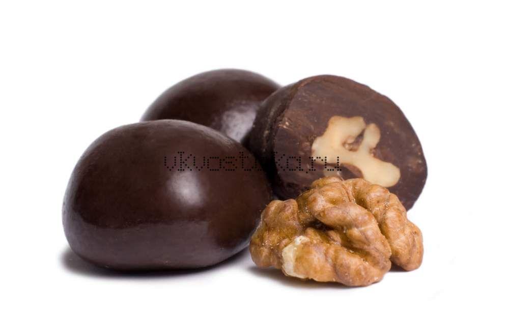 Грецкий орех в темном шоколаде (кг)
