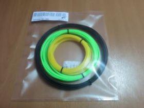 Комплект ABS-Пластика для 3D ручек Myriwell 1.75 мм, (зеленый, красный, черный)