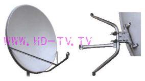 """Спутниковая антенна (тарелка) """"Супрал"""" диаметром 0,8 м. без логотипа"""
