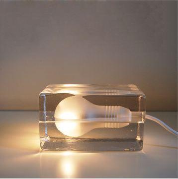 """Настольная лампа - ночник """"Design house block"""""""