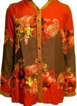 """Блуза """"МАКИ"""" размеры:54,56,58,60"""