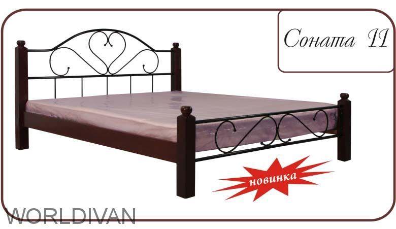 Кровать Соната 1,Соната 2