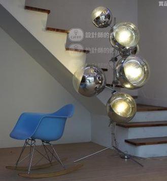 Напольный светильник торшер Caren / TomDixon / mirror on stand