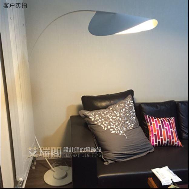 Напольный светильник торшер  Eric / Circled Floor lamp
