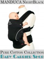 MANDUCA Baby CARRIER PURECOTTON COLLECTION NightBlack