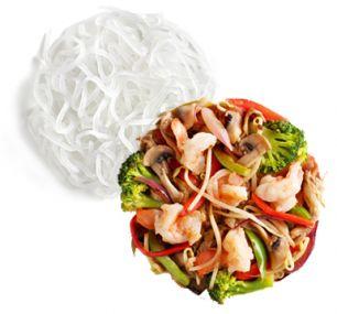 Харусамэ с морепродуктами