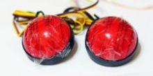 Светодиодный рефлектор заднего бампера Toyota Highlander/Fortuner/Voxy