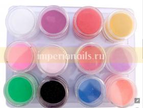 Цветная акриловая пудра Colors Acrylic