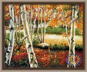 """Картина по номерам """"Осенняя роща"""""""