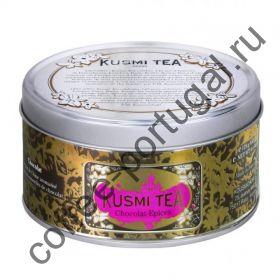 """Чай """"Kusmi Tea Spicy Chocolat"""" черный 125 гр"""