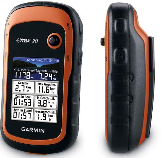 GARMIN eTrex 20x GPS, GLONASS