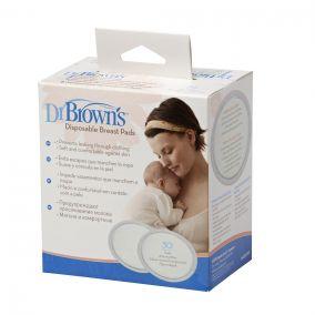 Dr. Brown`s Прокладки для бюстгальтера впитывающие, одноразовые - 30 шт. (Арт. S4022)