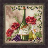 Схема для вышивки крестом Vine riserva White