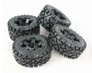"HPI Baja 5B ""ALL TERRAIN"" w/ Super Star Wheels set"