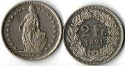2 франка. 1991 год.