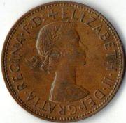 1 пенни. 1967 год.