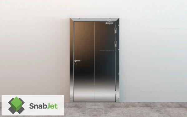 Распашные Холодильные Противопожарные двери EI45