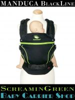 MANDUCA Baby And Child Carrier BLACKLINE ScreaminGreen