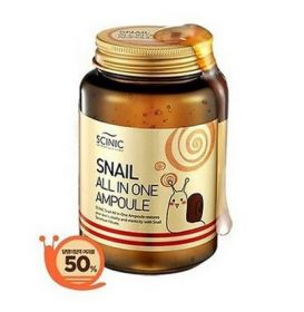 SCINIC Snail All in One Ampoule 250ml - Сыворотка все в одном 50% улиточной слизи