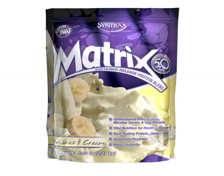SYNTRAX Matrix 5.0 (2,27кг.) - банановый крем
