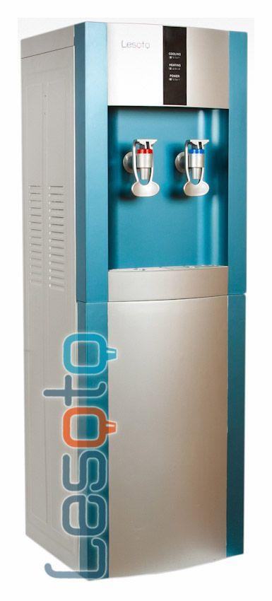 Кулер для воды LESOTO 16 LD/E blue-silver