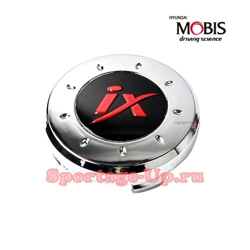 """Колпаки колёсных дисков для Hyundai, красная """"IX"""", MOBIS"""