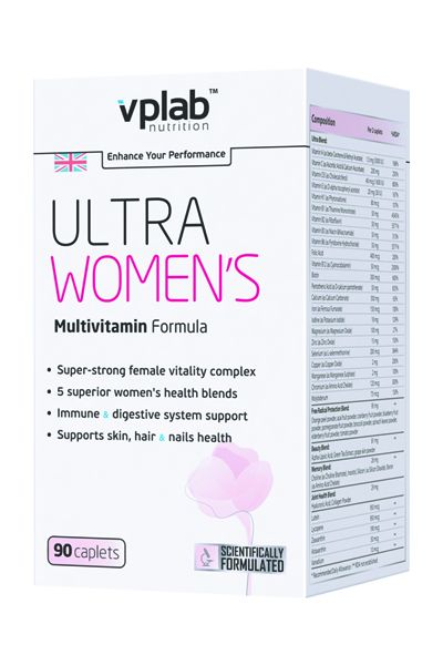 VPLAB Ultra Women's Multivitamin Formula 90 капс.скл 2 1-2 дня
