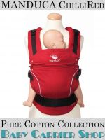 Слинг-рюкзак MANDUCA Baby And Child Carrier Эргорюкзак для переноски малышей «ChilliRed PureCotton» [Мандука слингорюкзак Красный]
