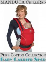 MANDUCA Baby CARRIER PURECOTTON COLLECTION ChilliRed