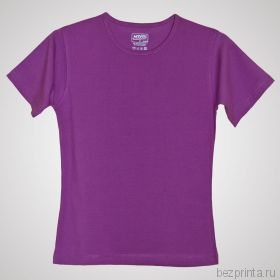 Женская фиолетовая футболка стрейч MODERN 200 гр/м2