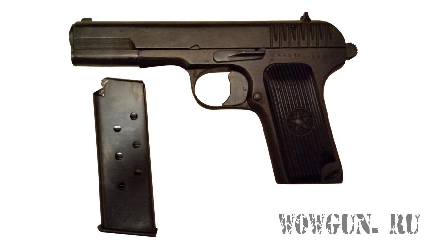 ТТ СХП - охолощенный пистолет ТТ