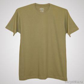 Мужская песочная футболка без рисунка MODERN