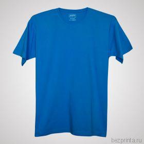 Мужская голубая футболка без рисунка MODERN