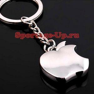 Брелок на ключи в стилизации модного надкушенного яблока