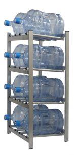 """Стеллаж для хранения бутилированной воды """"БОМИС-8"""" на 8 бутылей."""