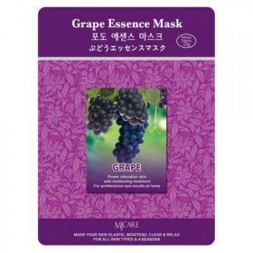MJ CARE Grape Essence Mask-Тканевая маска виноград.
