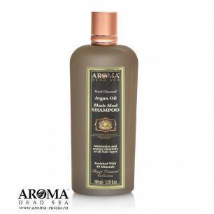 Грязевой шампунь с аргановым маслом Aroma Dead Sea