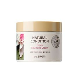 The Saem Natural Condition Lotus Cleansing Cream 300ml - Крем очищающий лотос