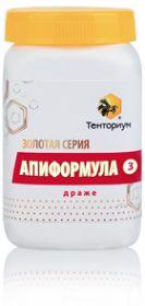 Золотая серия «Апиформула 3» 300 г
