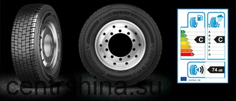 Грузовая шина 265/70R19.5 Continental HD3 Hybrid