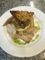 Турнедо из свиного филе с пюре