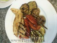 куриное филе гриль с овощами