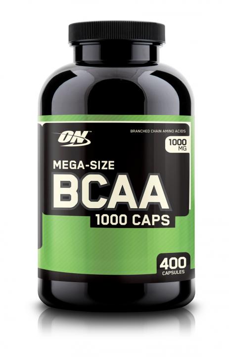 OPTIMUM NUTRITION BCAA 1000 400капс. скл2